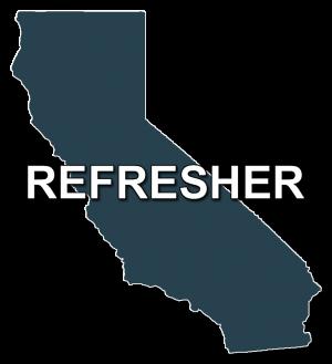 california mature driver improvement refresher course