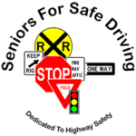 "Seniors For Safe Driving ""Dedicated To Highway Safety"" logo"