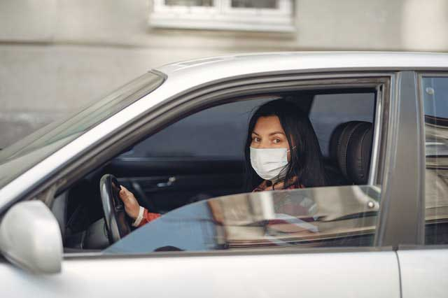Driving with a Mask