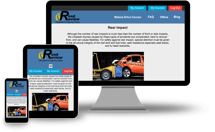 Mobile friendly website on multiple screens